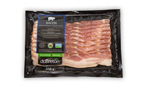 Organic Naturally Smoked Bacon- Code#: MP1186