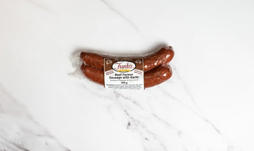 Beef Farmer Garlic Sausage- Code#: MP1193