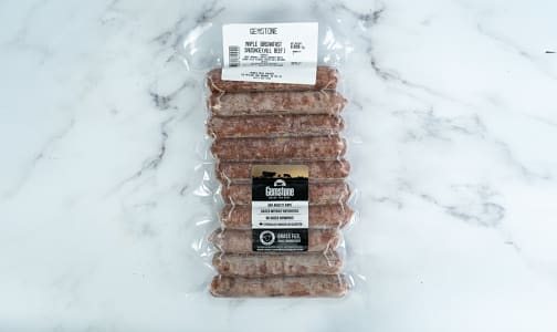 All Beef Maple Breakfast Sausage (Frozen)- Code#: MP1256