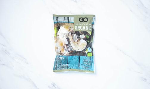 Organic Raw Ez-Peel Black Tiger Shrimp 11-14 CT (Frozen)- Code#: MP1269