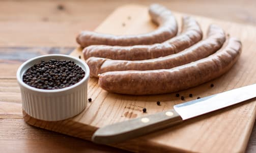 Lamb  Merguez Sausage (Frozen)- Code#: MP31007