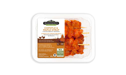 BLSL Breast Skewers CHIPOTLE & MAPLE SYRUP- Code#: MP1312
