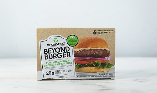 Beyond Burger Patties (Box of 6) (Frozen)- Code#: MP1324