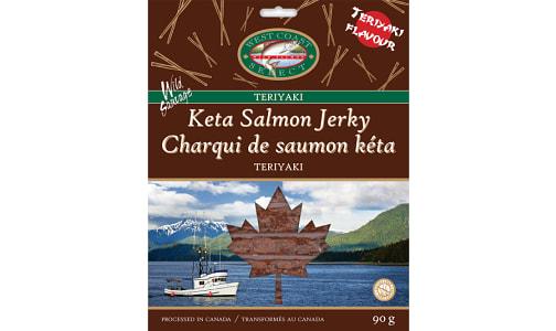 Sleeved Salmon Jerky -Teriyaki- Code#: MP1327