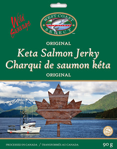 Sleeved Salmon Jerky - Regular- Code#: MP1347