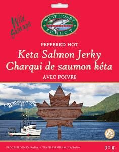 Sleeved Salmon Jerky - Hot- Code#: MP1348