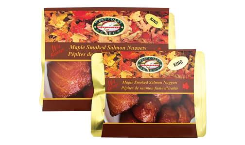 Maple Smoked Sockeye Nuggets (Frozen)- Code#: MP1356