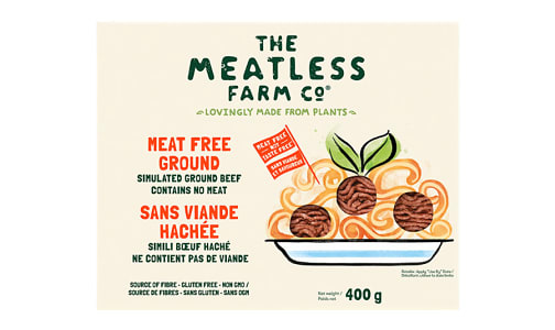 Meatless Farm Ground (Frozen)- Code#: MP1366