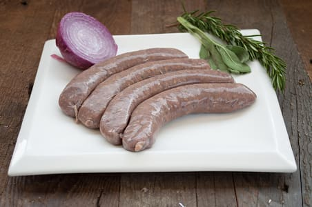 Paleo Italian Sausages (Grass-fed Venison/Beef) (Frozen)- Code#: MP1751
