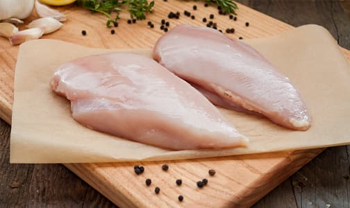 Free Run Boneless Skinless Chicken Breasts (Fresh)- Code#: MP1820