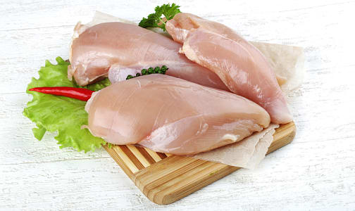 Free Run Boneless Skinless Chicken Breasts (Frozen)- Code#: MP1824FRZ