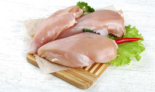Free Run Boneless Skinless Chicken Breasts (Fresh)- Code#: MP1824