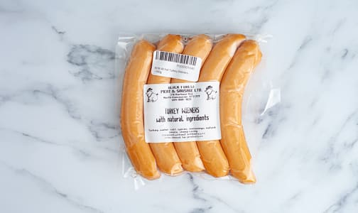 All Natural Turkey Wieners (Fresh)- Code#: MP1904