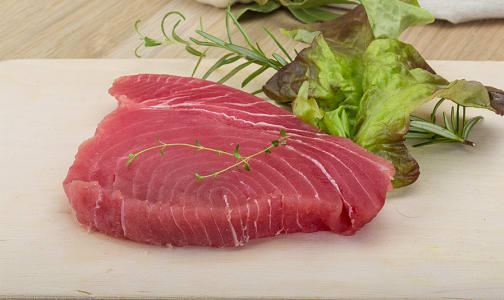 Ocean Wise Ahi Tuna Steak (Frozen)- Code#: MP1992