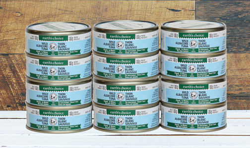 Wild Chunk Albacore Tuna, No Salt Added - CASE- Code#: MP3066-CS