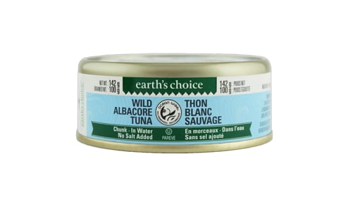Wild Albacore Chunk Tuna, No Salt- Code#: MP3066