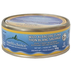 Wild Chunk Albacore Tuna, No Salt Added- Code#: MP3066