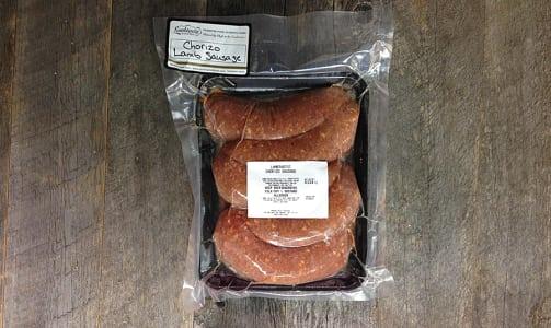 Lamb Chorizo Sausage (Frozen)- Code#: MP0786
