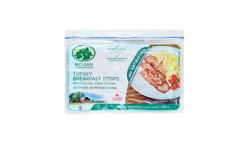 Turkey Breakfast Strips- Code#: MP3129