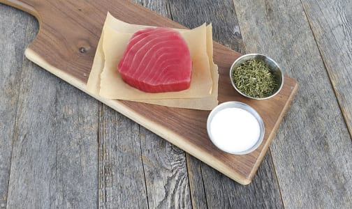 Tuna Ahi Yellowfin Steak, Marinated (Frozen)- Code#: MP3147