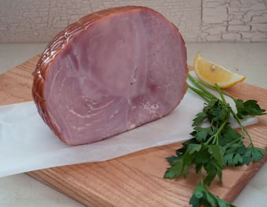 Spragg's Quarter Leg Ham, Bone-in (Frozen)- Code#: MP3929