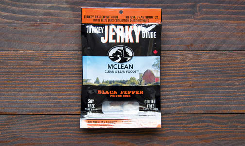 Black Pepper Turkey Jerky- Code#: MP396