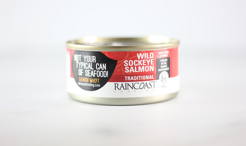 Canned Wild Sockeye Salmon- Code#: MP670