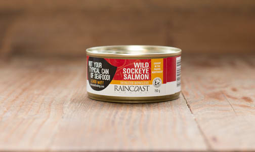 Canned Sockeye Salmon - Boneless/Skinless- Code#: MP671