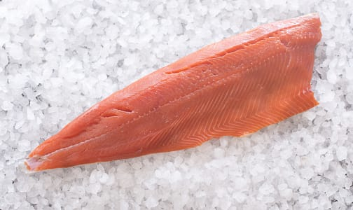 Ocean Wise & Wild Coho Salmon - Whole Side (Frozen)- Code#: MP695
