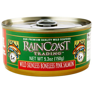 Canned Wild Pink Salmon (Boneless/Skinless)- Code#: MP7200