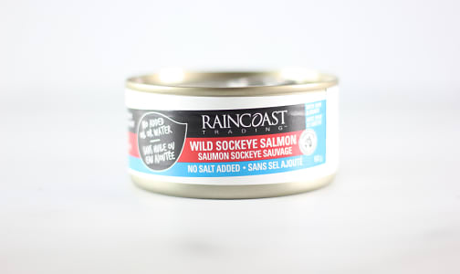 Canned Wild Sockeye Salmon (No Salt Added)- Code#: MP7201