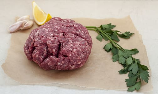 Grass Fed/Grass Finished Ground Beef Chuck (Frozen)- Code#: MP731