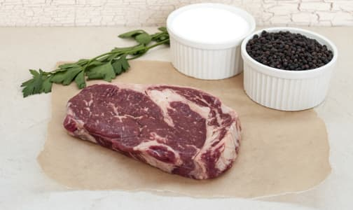 Grass Fed/Grass Finished Ribeye Steak (Frozen)- Code#: MP735-NV