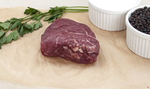 Grass Fed/Grass Finished Top Sirloin Steak (Frozen)- Code#: MP736-NV
