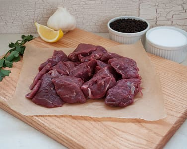 Bison Stew Meat (Frozen)- Code#: MP31110