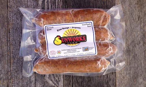 Organic Chicken Chorizo Sausage (Uncooked) (Frozen)- Code#: MP8131