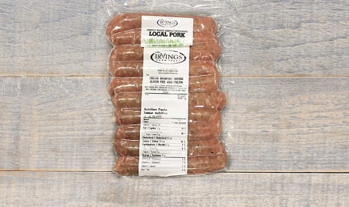 English Breakfast Sausages (Frozen)- Code#: MP8138