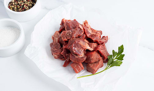 Canadian Rangeland Bison Stew Meat (Frozen)- Code#: MP820