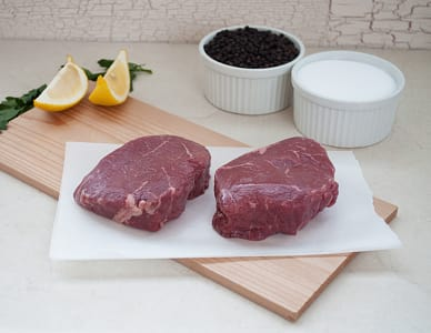 Natural Beef Top Sirloin Baseball Steak - 2pk (Frozen)- Code#: MP961