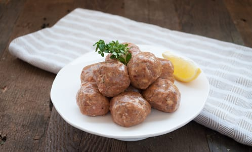 Beef Bacon Meatballs (Frozen)- Code#: MP8150