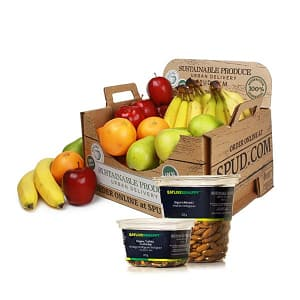 Organic Small Office Fruit & Snack Box- Code#: OFFICE05