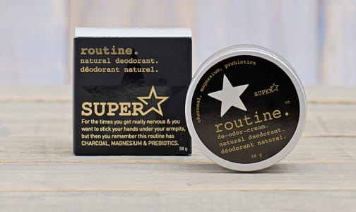 Superstar Activated Charcoal Deodorant- Code#: PC0007