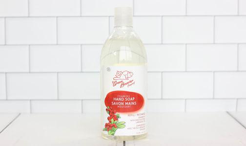 Organic Foaming Handwash Refill, Cranberry- Code#: PC0035