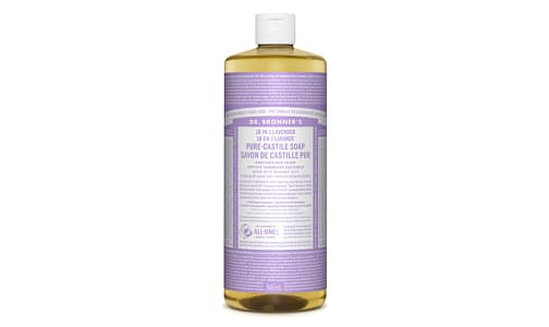 18-in-1 Hemp Pure-Castile Soap - Lavender- Code#: PC0111