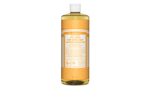 18-in-1 Hemp Pure-Castile Soap - Citrus- Code#: PC0117