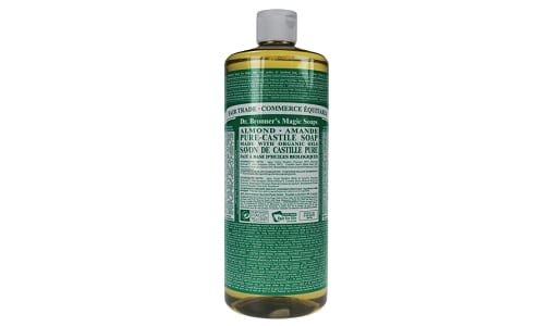18-in-1 Hemp Pure-Castile Soap - Almond- Code#: PC0118