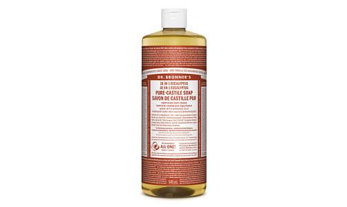 18-in-1 Hemp Pure-Castile Soap - Eucalyptus- Code#: PC0119