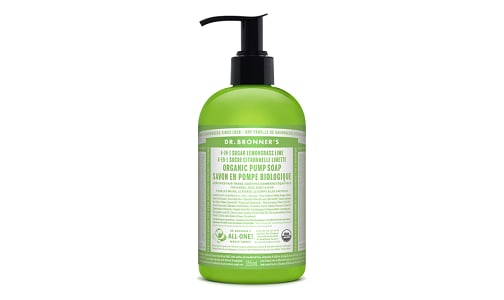Organic Hand Soap Lemongrass Lime- Code#: PC0124