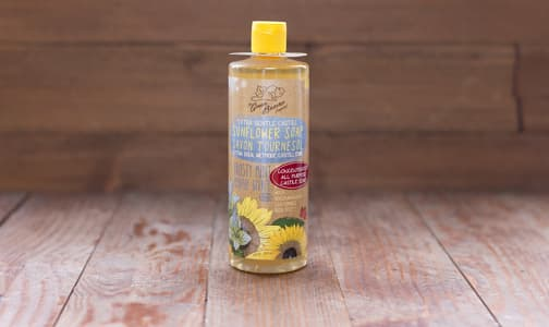 Frosty Mint Sunflower Castile Liquid Soap- Code#: PC0131