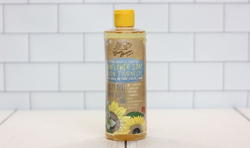 Frosty Mint Sunflower Castile Liquid Soap- Code#: PC0131